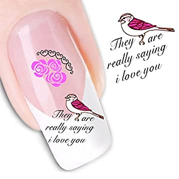 Amazon Nicedeco 1pack New Products Nail Art Flowers Nail