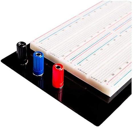 ARCELI 1660 Points ZY-204 Mini Solderless Prototype Planche /À Pain Protoboard PCB Carte de Test Universel De Circuit DIY Outils Planche /À Pain