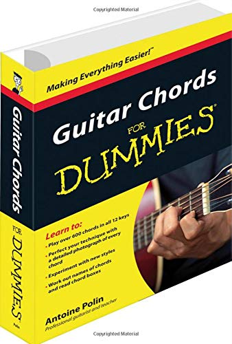 Guitar Chords For Dummies Amazoncouk Antoine Polin Books