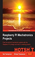 Raspberry Pi Mechatronics Projects HOTSHOT Front Cover