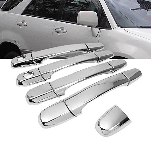 Mirror Chrome Side Door Handle Covers Trims For Lexus 98-03 RX300 01-05 IS300 98-05 IS200 Toyota 98-03 Harrier First Generation Brand -