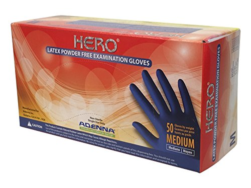 Adenna Latex Powder Gloves Medium