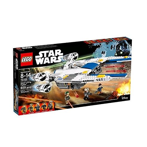 Lego 75155 - Star Wars - Revel U-Wing Fighter Rogue One  per 66,75€ - inclusa spedizione [amazon.es]