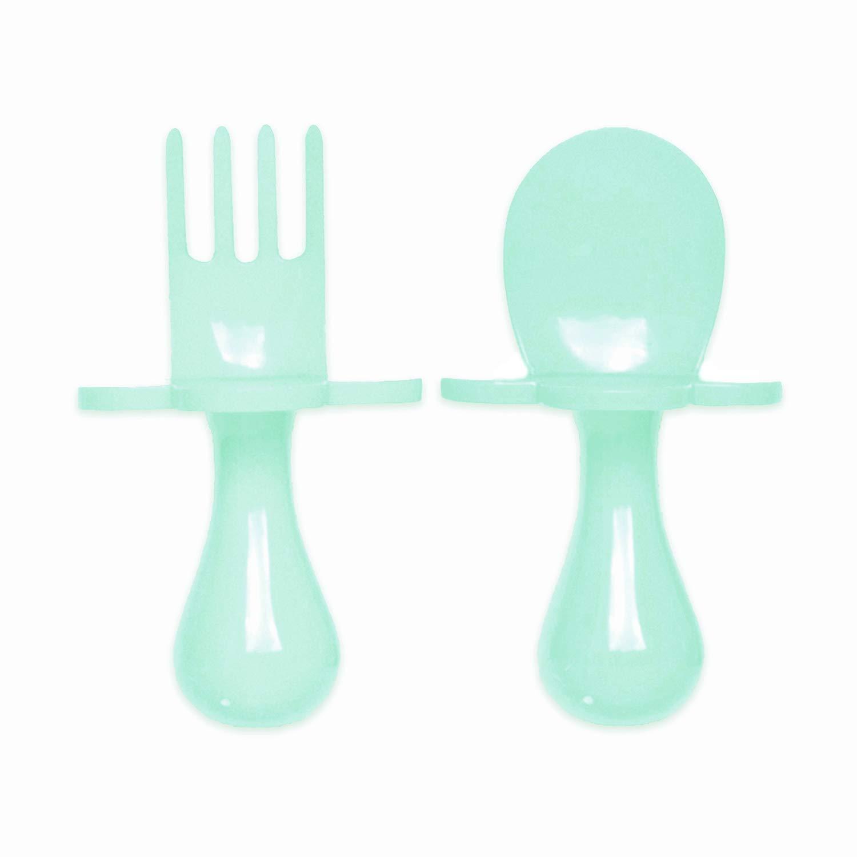 Grabease Self-Feeding Cutlery Set Mint
