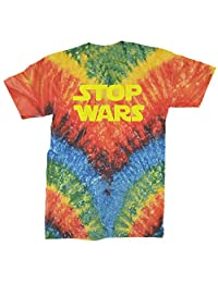 Expression Tees Stop Wars Now Mens T-Shirt