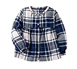 Carter's Girls' 2T-4T Long Sleeve Plaid Dress
