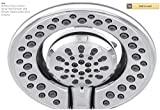 DELTA FAUCET In2ition Two-in-One 4-Spray Hand Shower and Shower Head Combo Kit in Chrome (Polished Chrome)