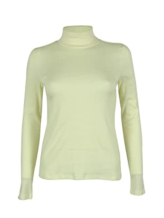 5ee9601f65500e Charter Cub Women s Long Sleeve Turtle Neck Blouse at Amazon Women s  Clothing store