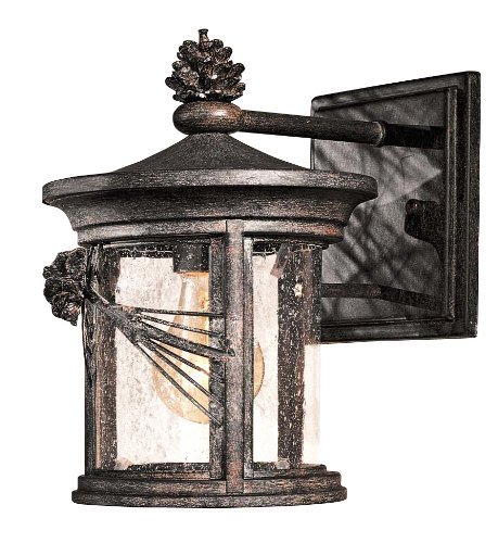 Minka Lavery Outdoor 9151-A357, Abbey Lane Outdoor Wall Sconce Lighting, Iron