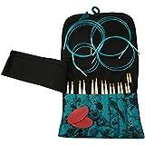 HiyaHiya 优质可互换编织套装,竹制,多种,3 x 19 x 21 厘米
