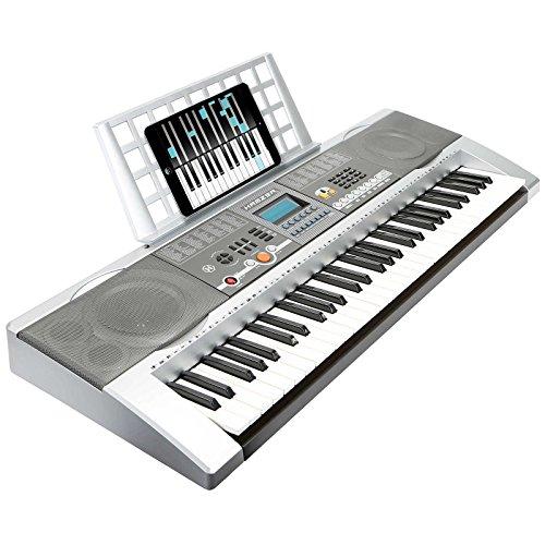 Hamzer 61 Key Electronic Music Electric Keyboard Piano with