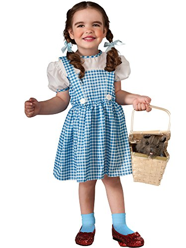 Toddler Wizard of Oz Dorothy Costume,Blue,Infant ()
