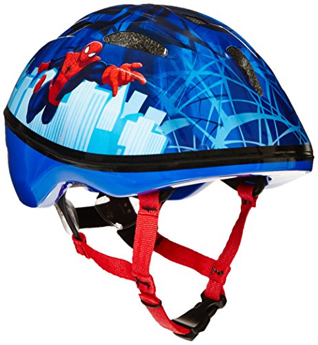 Spider Man Child Helmet (Bell Toddler Spiderman Spideys Little Web Bike Helmet)
