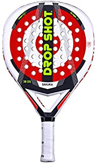 Drop Shot Grumman 1.0, Padel Tennis Racquet Unisex Adult, Black, 360 – 380