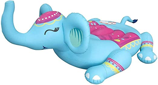 LPER Fiesta De Flotador De Elefante Inflable Gigante. Tubo De ...