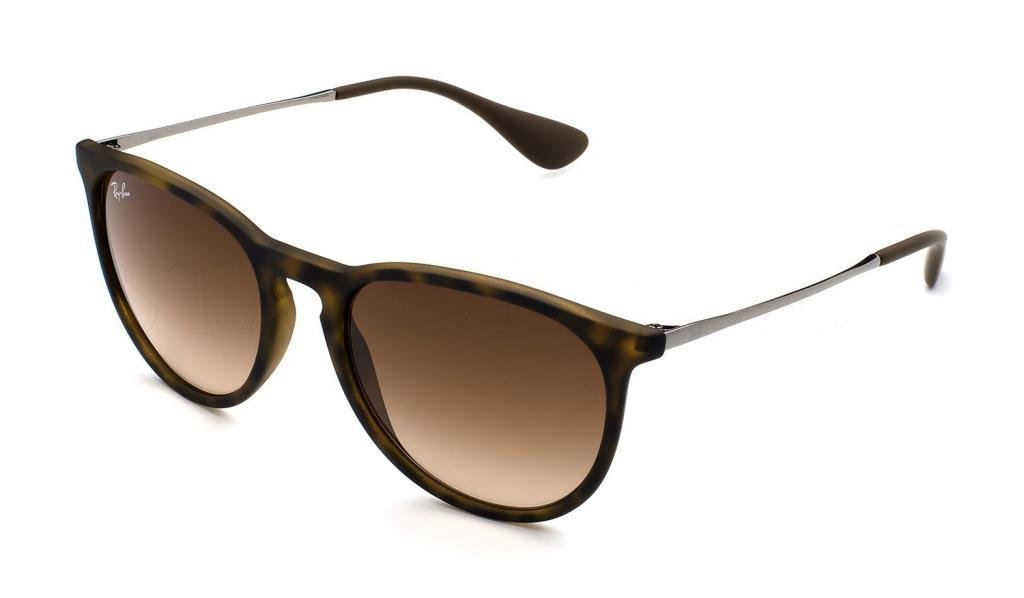 Ray Ban RB4171F 865/13 54mm Rubber Havana Erika Sunglasses Bundle-2 Items