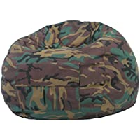 Gold Medal Bean Bags 31014084925 XX-Large Denim Bean Bag with Pocket, Camoflouge