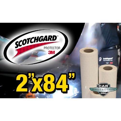 "3M Scotchgard Pro Series Paint Protection Film Clear Bra Bulk Roll 12/"" x 168/"""