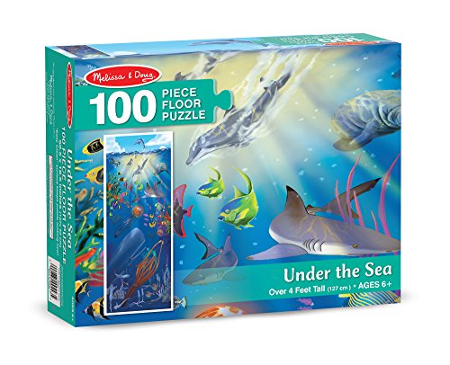 Authentic melissa doug under the sea 100 piece floor for 100 piece floor puzzles