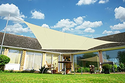 OUTERSUN 12'x12' Rectangle Sun Sail Shade Water Proof Out...
