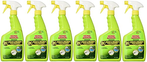 Home Armor FG502 Instant Mold and Mildew Stain Remover, Trigger Spray 32-Ounce (6, 32-Ounce)