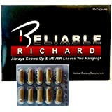 """Reliable Richard (10 Pill Pack) """"Always Shows Up & NEVER Leaves You Hanging""""! (Male Enhancement & Testosterone Booster)"""
