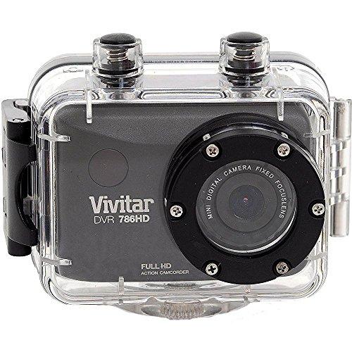 Vivitar DVR 787HD - action sports cameras (Lithium-Ion (Li-Ion), 1920 x 1080 pixels, AVI, LCD, MicroSD (TransFlash) by Vivitar