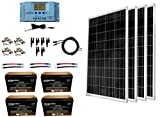 WindyNation 400 Watt Solar Kit: 4pcs 100W Solar Panels +...