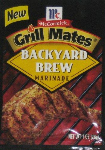 - McCormick Grill Mates Backyard Brew Marinade - 1.0 Oz (6-Pack)