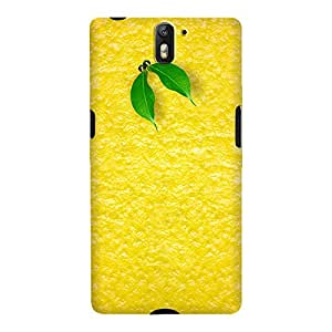 DailyObjects Lemmon Leaf Case For OnePlus One