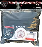 Disc Golf Starter Set - Bag and Discs by DGA, Black starter bag