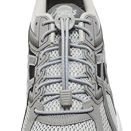 Lock Laces - Elastic No Tie Shoelaces, One Size Fits All from Lock Laces