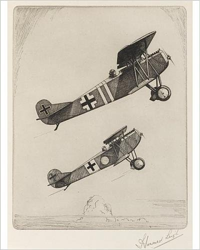 Photographic Print of FOKKER D.VII