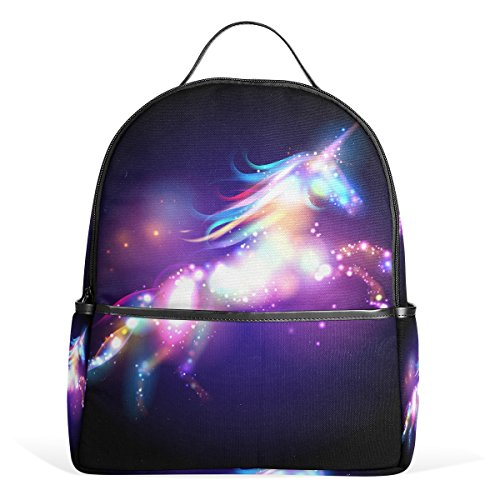 JSTEL Unicorn Magic Stars School Backpack 1th 2th 3th Grade for Boys Teen Girls by JSTEL (Image #1)
