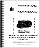 Mccormick Deering WD9 Tractor Service Manual