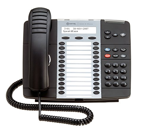 MITEL 5224 DUAL MODE VoIP BUSINESS PHONE WITH BACK LIT DISPLAY 50004894 FULLY REFURBISHED WITH 1 YEAR WARRANTY by Mitel
