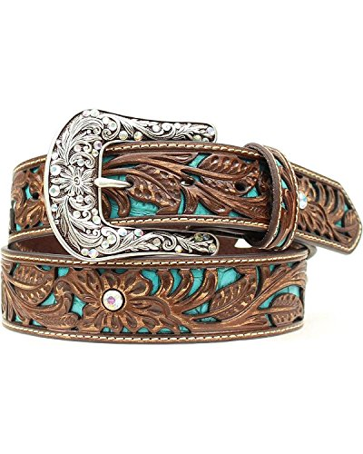 Ariat Womens Tooled Turquoise Leather product image