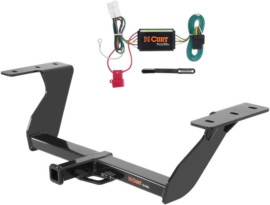 CURT Class 2 Trailer Hitch Bundle with Wiring for 2014-2016 Subaru Forester 12100 /& 56040