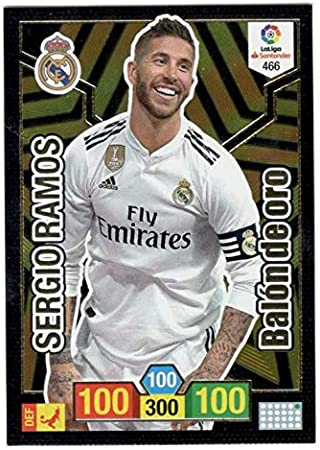 Panini Sergio Ramos Balón de Oro Adrenalyn XL 2018 2019: Amazon.es ...