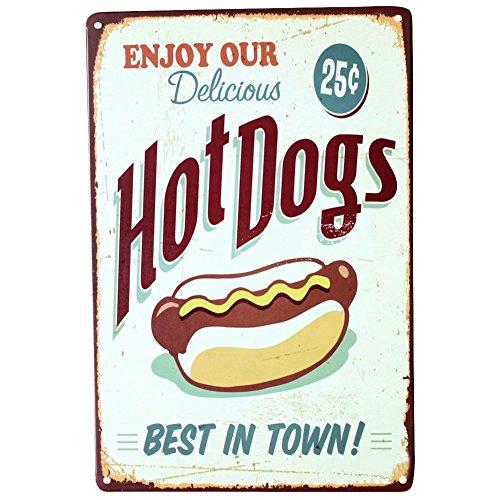 hot dog bar sign - 3