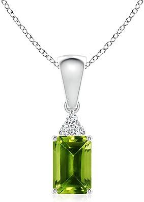 jewelry, solar quartz peridot pendant silver 925 olive green