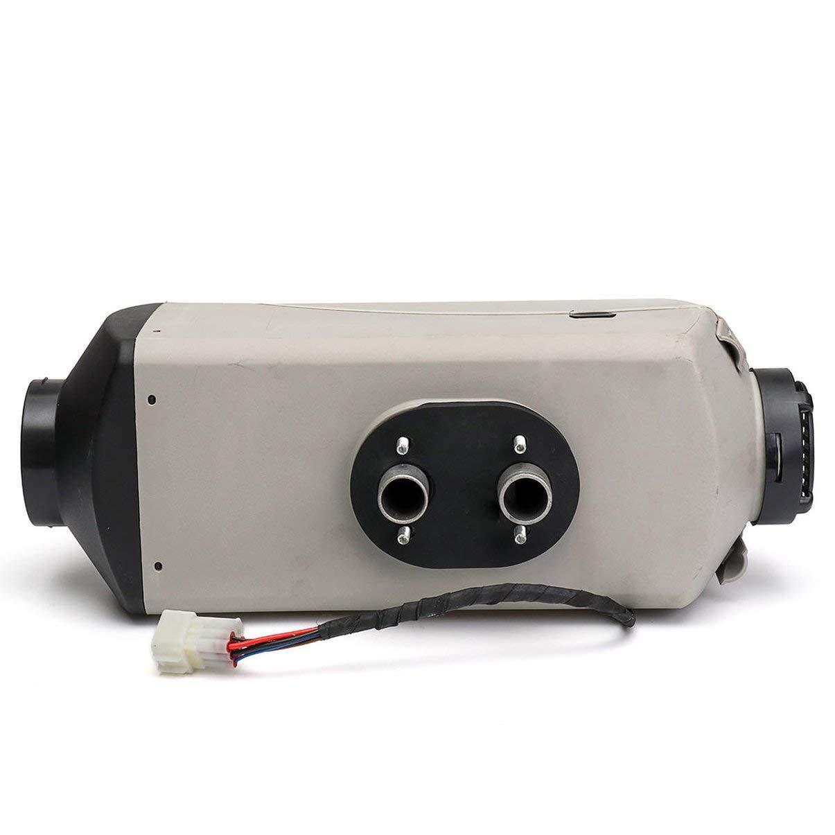 Riscaldatore Diesel kit con LCD per Auto Camion Yachts Barche Camper grigio 12v//8kw Diesel Riscaldatore Diesel Air Heater 12V Diesel Aria Riscaldatore