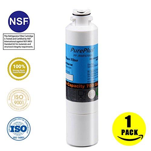 PurePlus DA29-00020B Refrigerator Water Filter Replacement for Samsung DA29-00020B, DA29-00020A, HAF-CIN/EXP, (Activated Aqua Carbon)