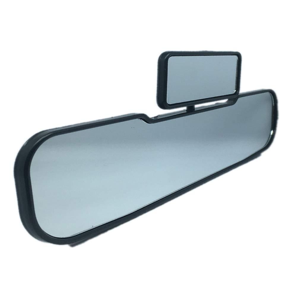 CLIUS R/étroviseur 2 en 1 miroirs Double int/érieur pour Enfant Vue sur la Voiture S/écurit/é Infantile Enfants Rotatif Grand Angle Universel