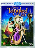 Tangled (Four-Disc Combo: Blu-ray 3D / Blu-ray / DVD / Digital Copy)