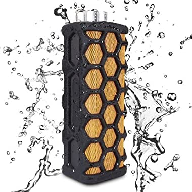 PowerLead ME990 Bluetooth Waterproof Speakers Wireless Portable Outdoor Speaker with Subwoofer