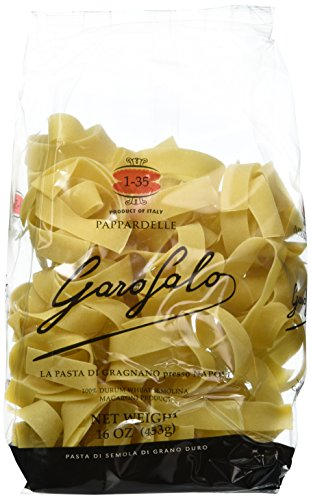 Garofalo Papardelle Nido Pasta, 16-Ounce (Pack of 4)