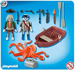Amazon.com: Playmobil 5900 Ghost Pirates Blister Pack: Toys & Games