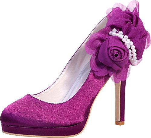 Violet Violet 36 Find Femme Nice 5 Sandales Plateforme qwnF7RcAT