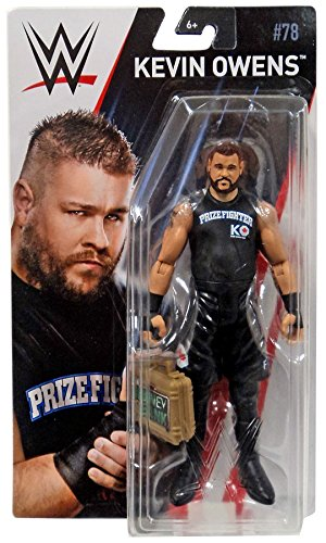 Kevin Owens Mattel WWE Basic Series 78 Chase with Money In the Bank Case